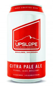 Upslope Brewing Announces a New Year-round Offering, Citra Pale Ale