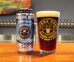 PIZZA PORT BREWING CO. RELEASES SHARK BITE RED ALE AS 6 PACK LIMITED OFFERING