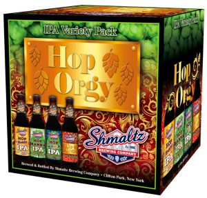 "Shmaltz Brewing Reveals ""Hop Orgy"" - A Fresh New Variety 12-Pack!"