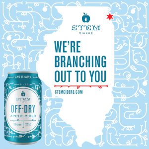 Cider News: Stem Ciders Expands Distribution to Illinois with Breakthru Beverage Partnership