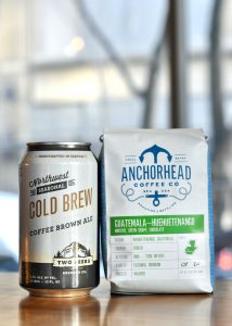Two Beers & Anchorhead Partner on Cold Brew Brown Ale