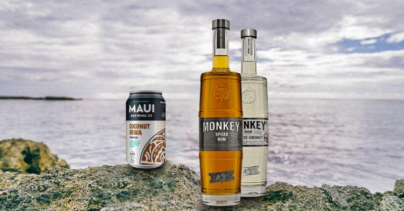 Maui Brewing Co. Partners with Monkey Rum on Barrel-Aged Craft Spirits