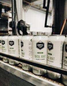 Seattle Cider Basil Mint Returns for Spring