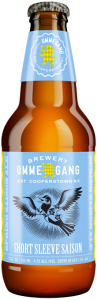 Short Sleeve Saison, a refreshing new beer from Brewery Ommegang