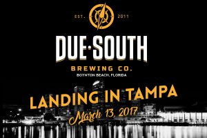 Due South Brewing Company Expands Distribution To Florida's West Coast