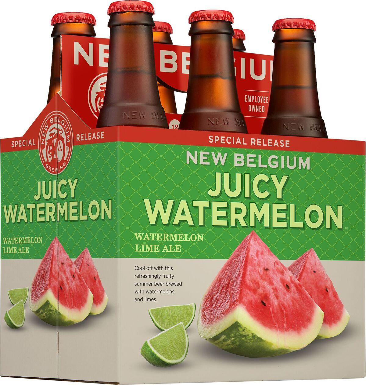 New Belgium Releases Juicy Watermelon Lime Ale Brewbound Com