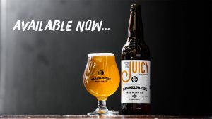 BarrelHouse Brewing Co. releases JUICY IPA, their take on the New England style IPA with a rotating hop profile and accompanied with a video created by their brewers.