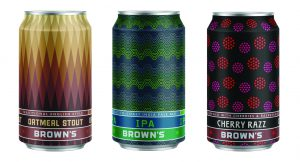 Brown's Brewing Company switches to cans
