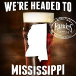 Founders Brewing Expands Distribution to Mississippi