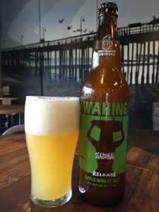 Surf Brewery® Releases NEW Apple Wahine™ Wheat Ale