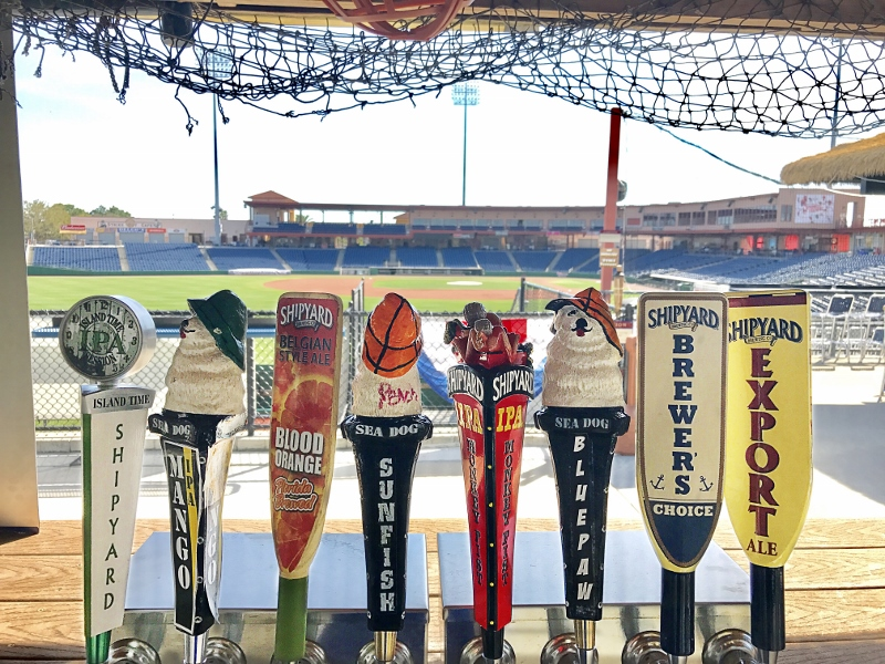 Shipyard Brewing Places Beers in Florida Baseball Parks | Brewbound com
