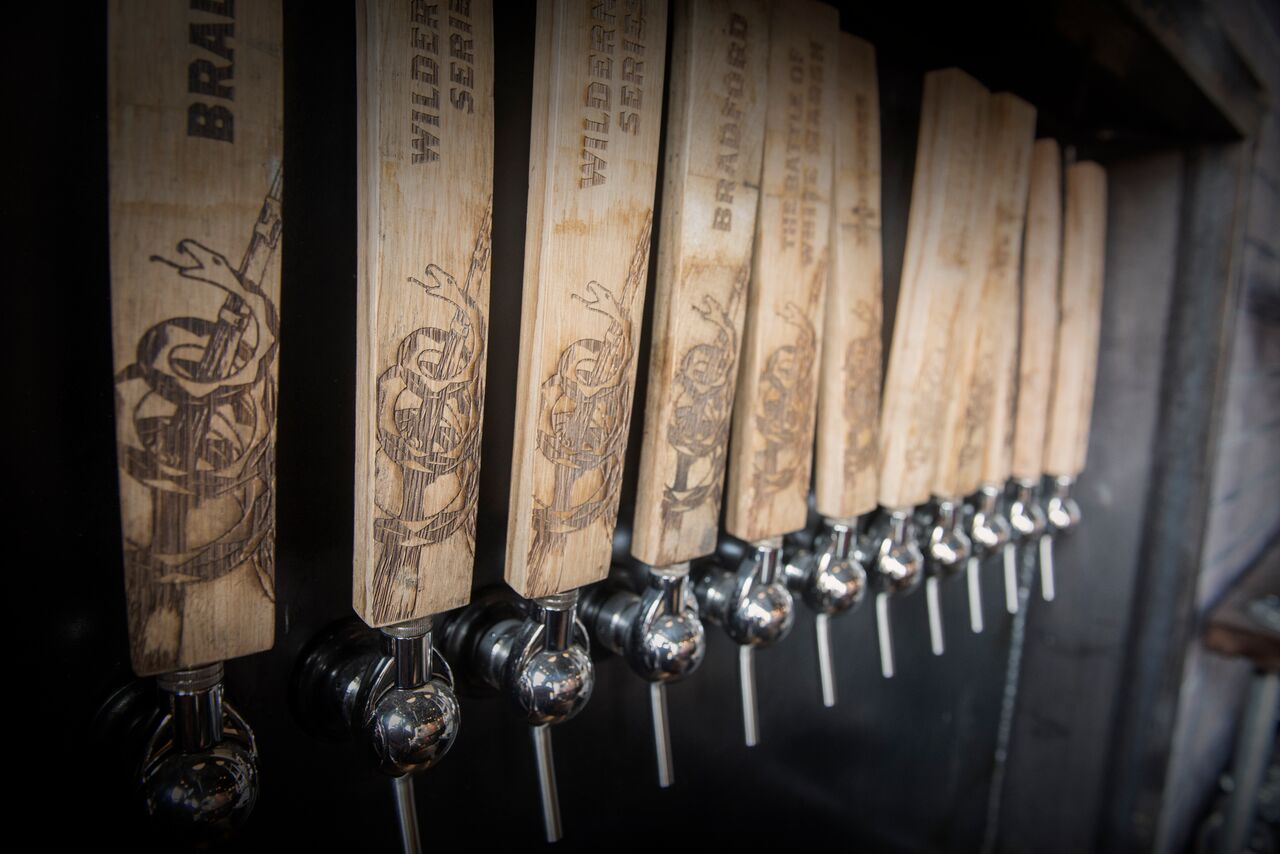 Heritage Brewing Co. Taps