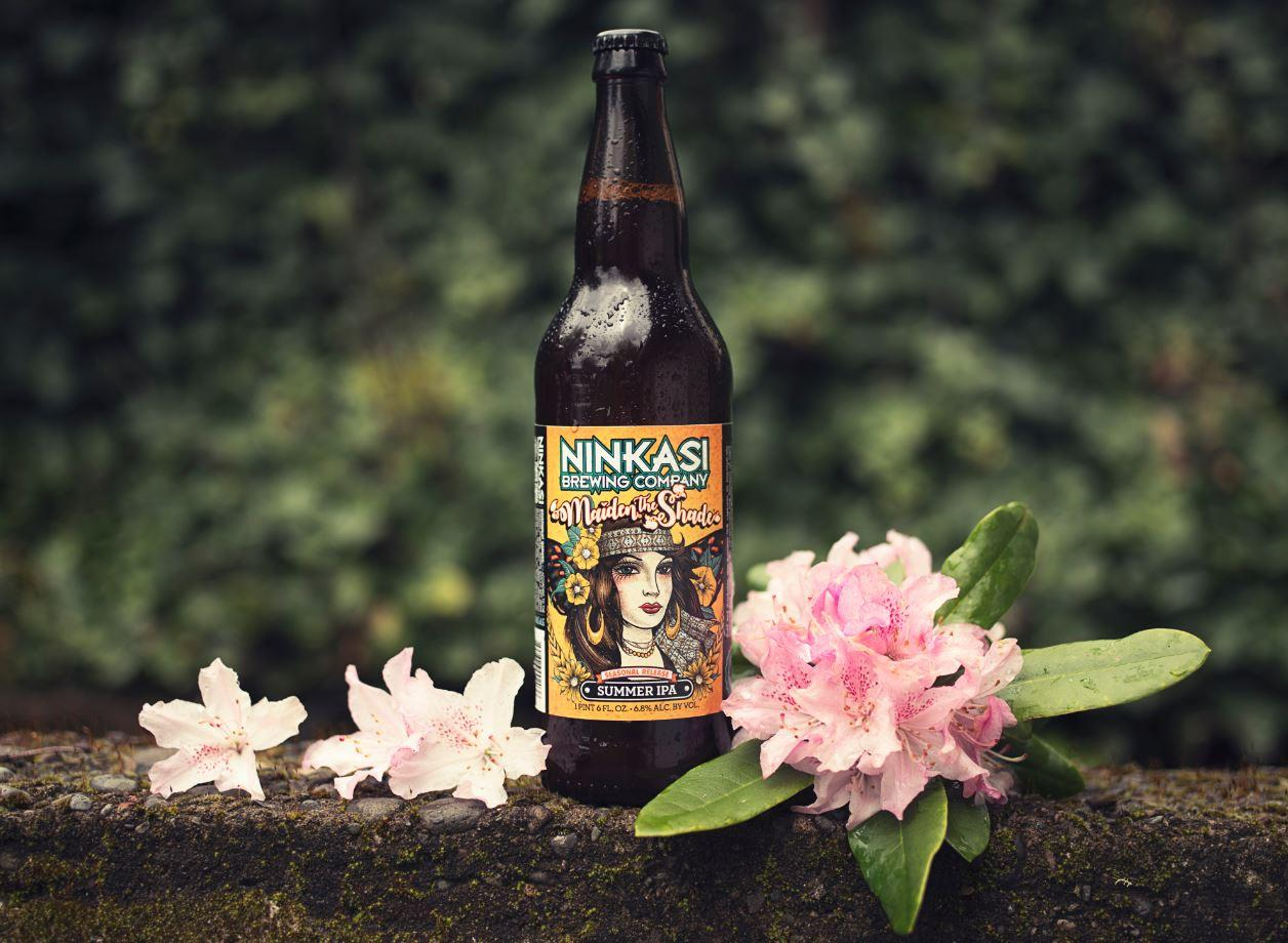 Ninkasi Brewing Unveils New Look for Maiden The Shade Summer IPA
