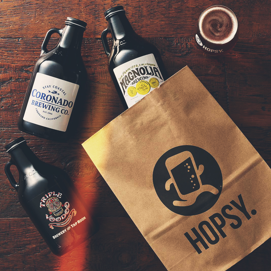 Growler Delivery Startup Hopsy Opens San Diego Distribution