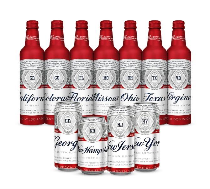 Budweiser releases new summer packaging