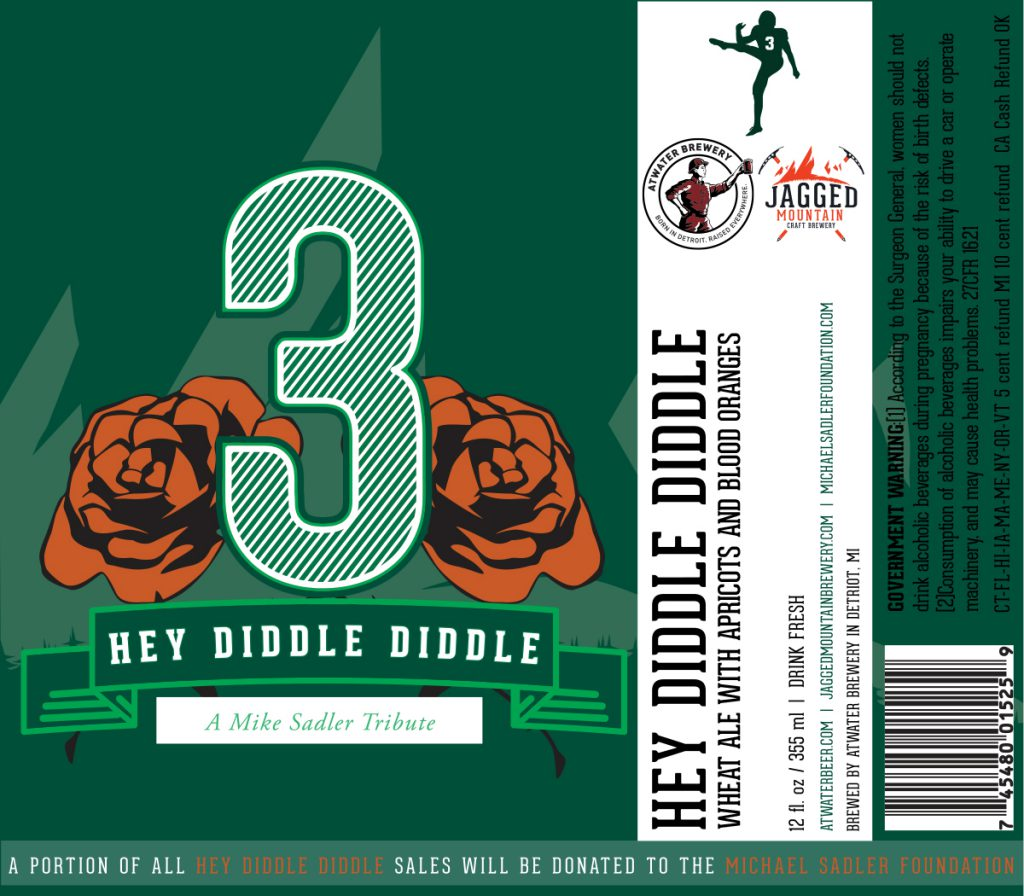 Atwater Brewery To Release Hey Diddle Diddle Tribute Beer To Mike