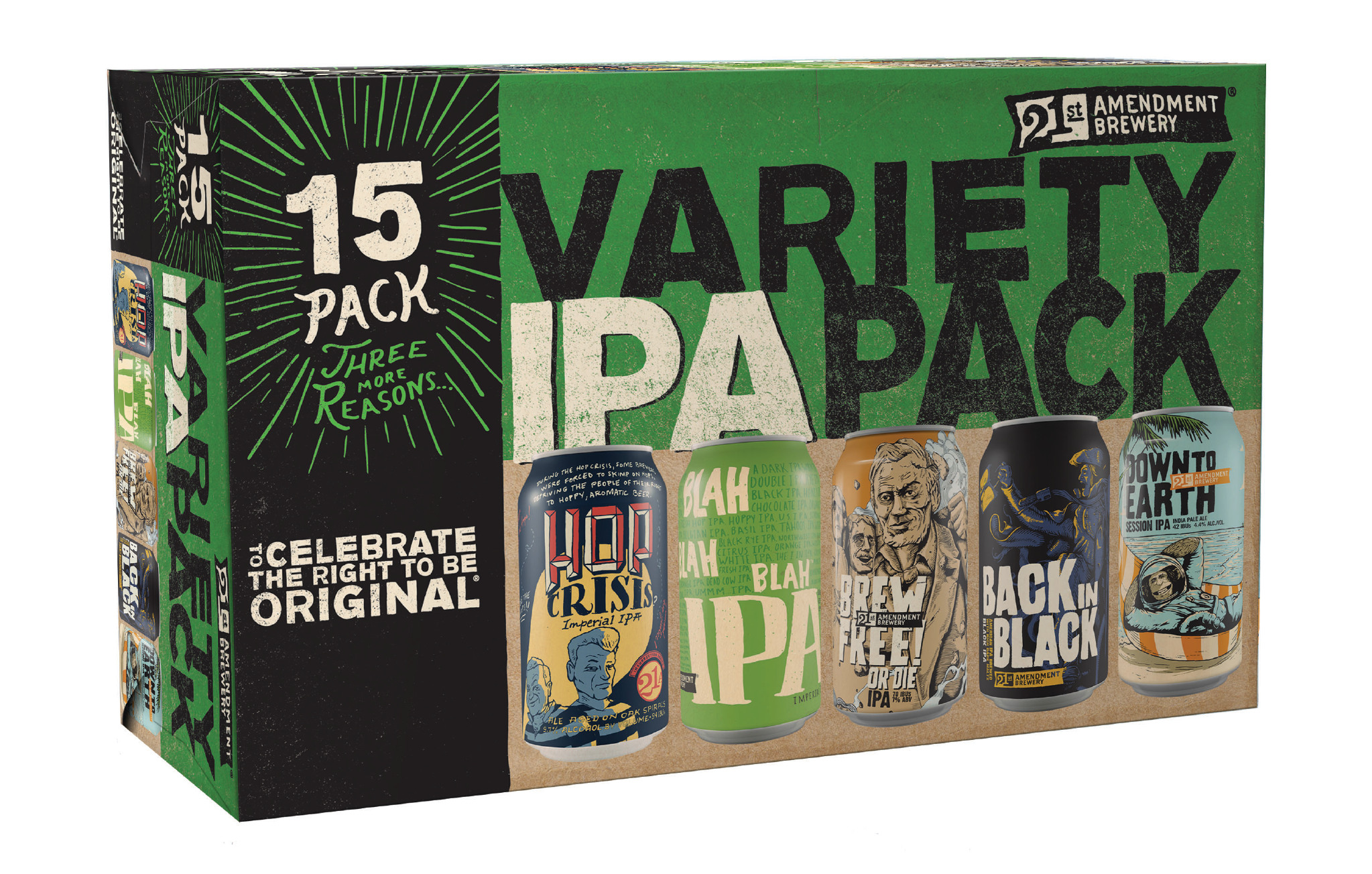 21st Amendment Brewery Introduces 2 New 15-Packs ...