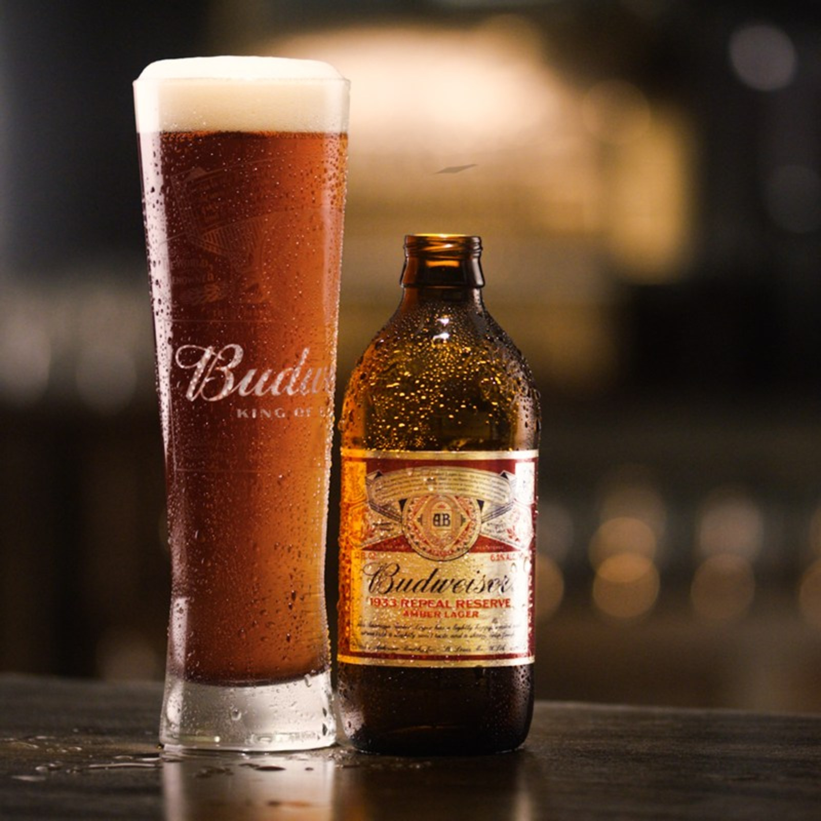 Anheuser Busch Releases Budweiser 1933 Repeal Reserve Amber Lager