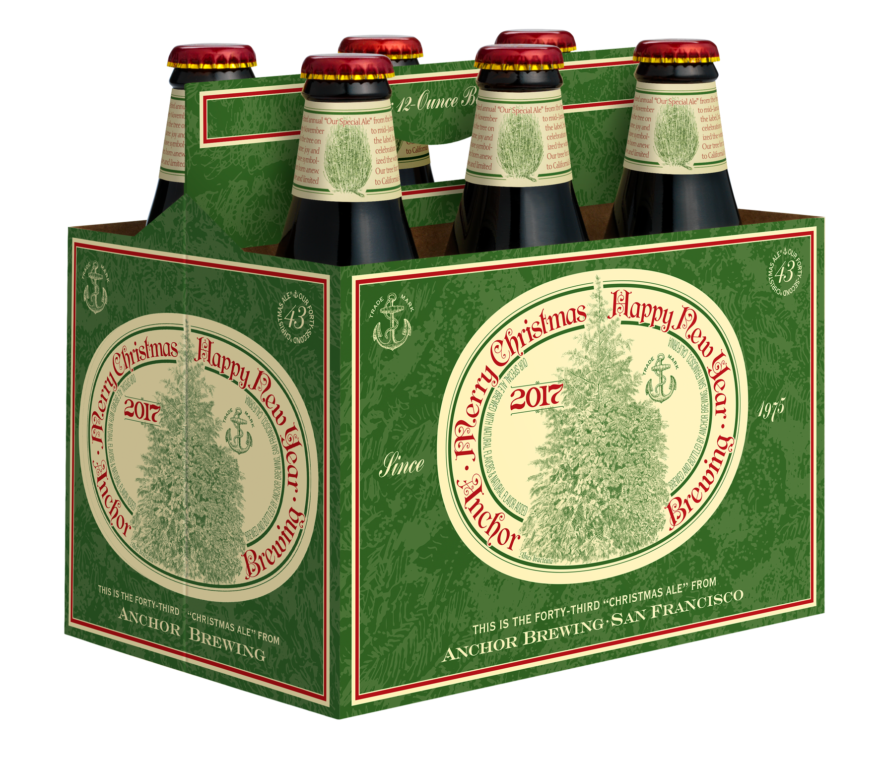 along with an evolving recipe christmas ale portrays a new label every year since ancient times trees have symbolized the winter solstice when the earth - Christmas Ale Recipe