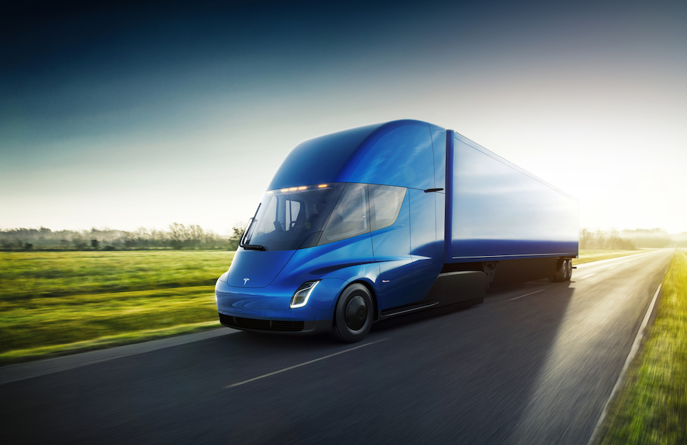 Anheuser-Busch orders 40 new electric Tesla semis