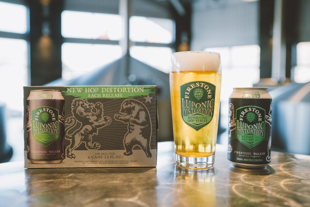 The Next Release In Firestone Walkers Luponic Distortion Revolving Hop Series Arrives With Revolution No  A Freethinking Blend Of Six Public Domain