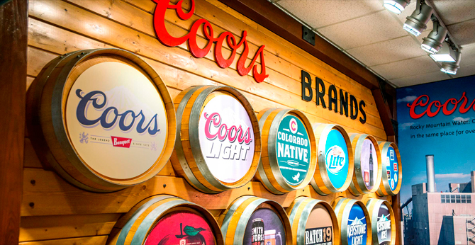 US Bancorp DE Increases Position in Molson Coors Brewing Co