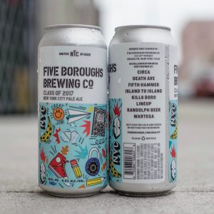 Brooklyn N Y Five Boroughs Brewing Co Cele Ted The Start Of New York City Beer Week With The Release Of Clof 2017 A Special Collaboration Beer