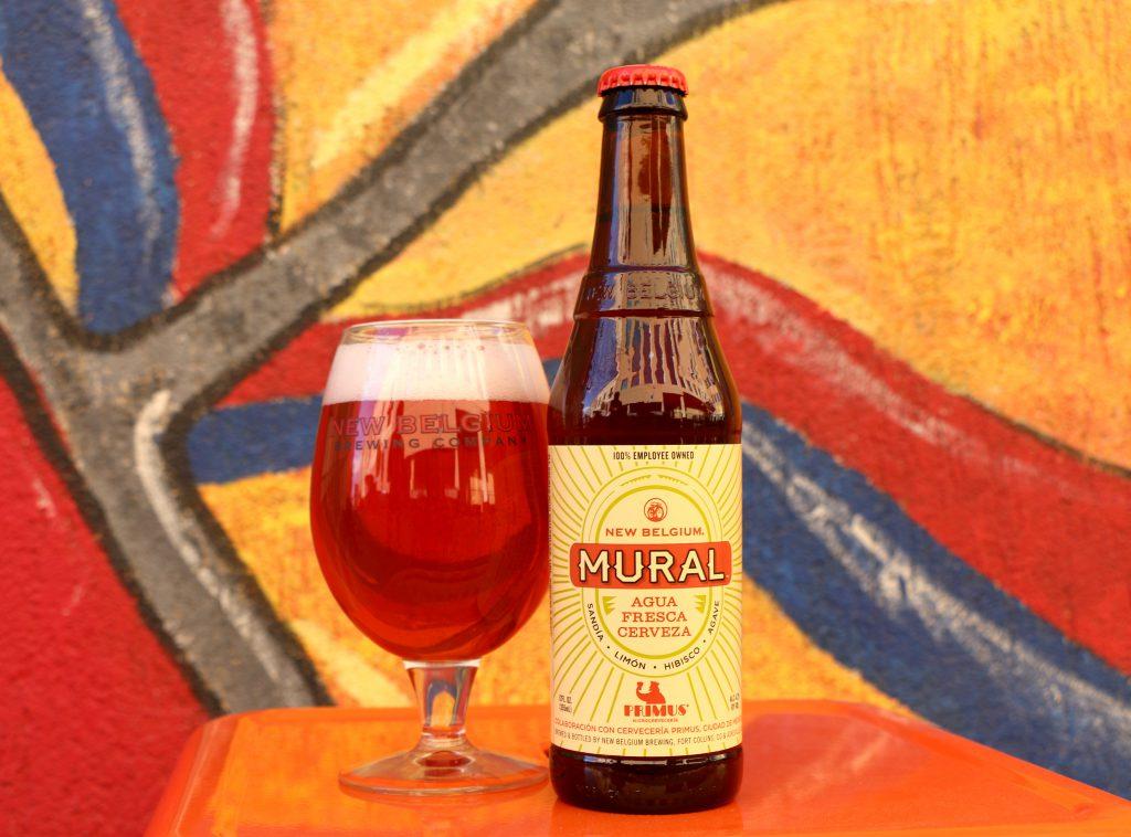new belgium brewing releases mural agua fresca cerveza brewbound com