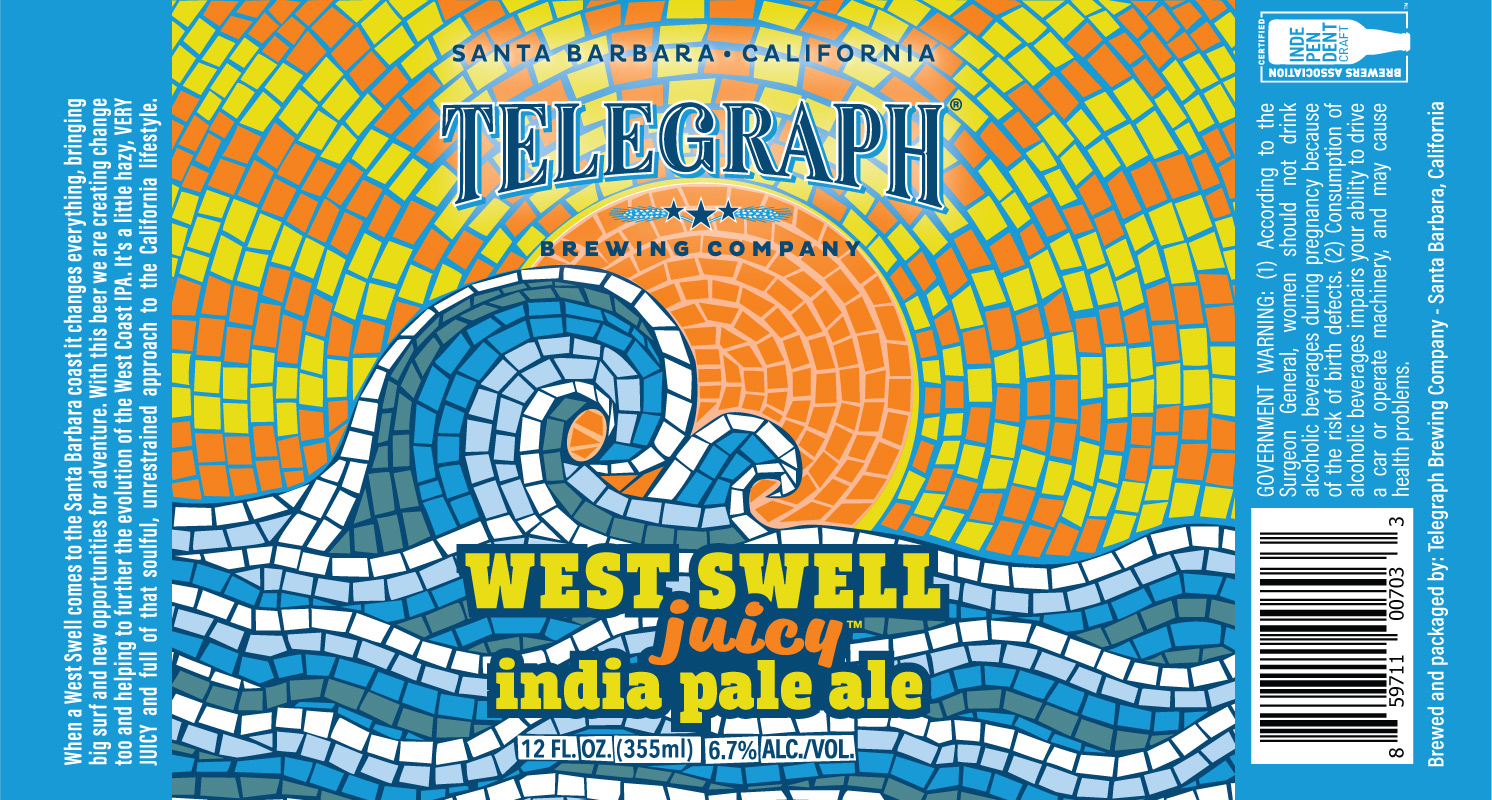 Epic Brewing Releases Telegraph Brewing's West Swell IPA | Brewbound.com