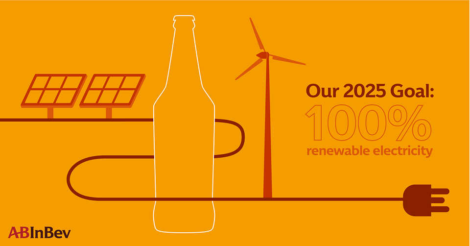 Anheuser Busch Inbev Launches 2025 Sustainability Goals And 100