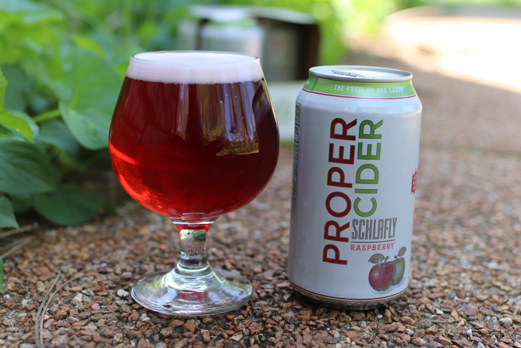 LOUIS Schlafly Beer Announces Plans To Release A Year Round Canned Cider Across Their Distribution Footprint With Proper Raspberry