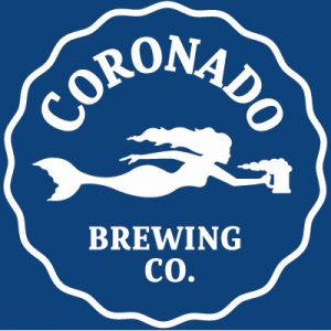 CORONADO official Logo craft beer STICKER