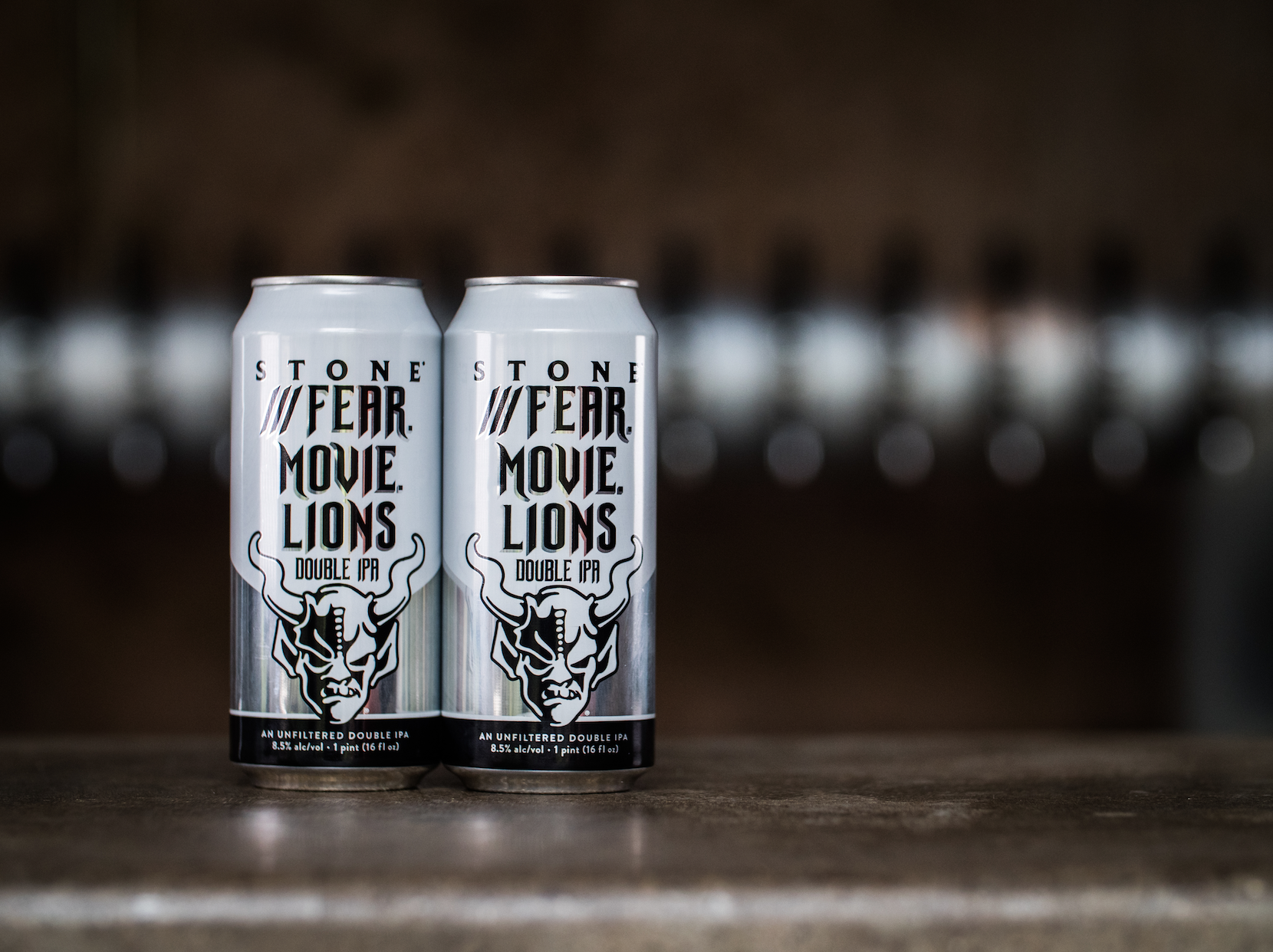 Stone Brewing Releases ///Fear Movie Lions Double IPA