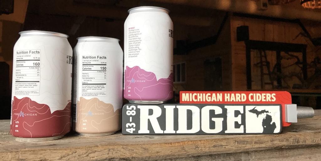 Ridge cider unveils new packaging for Cider ridge