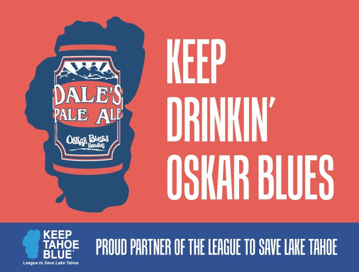 b99718f68 Oskar Blues Announces Partnership with Keep Tahoe Blue