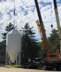 Castle Island Adds Grain Silo and Automated Malt Handling System