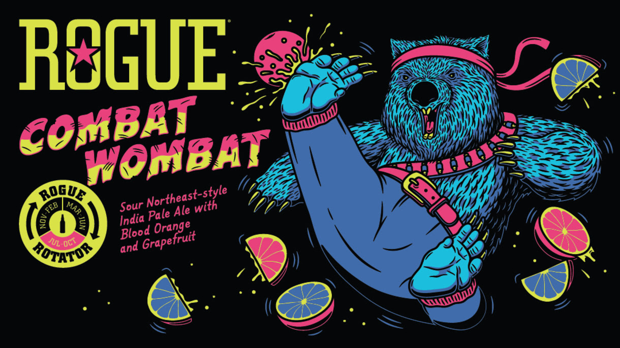 Rogue Ales & Spirits Releases Combat Wombat IPA | Brewbound