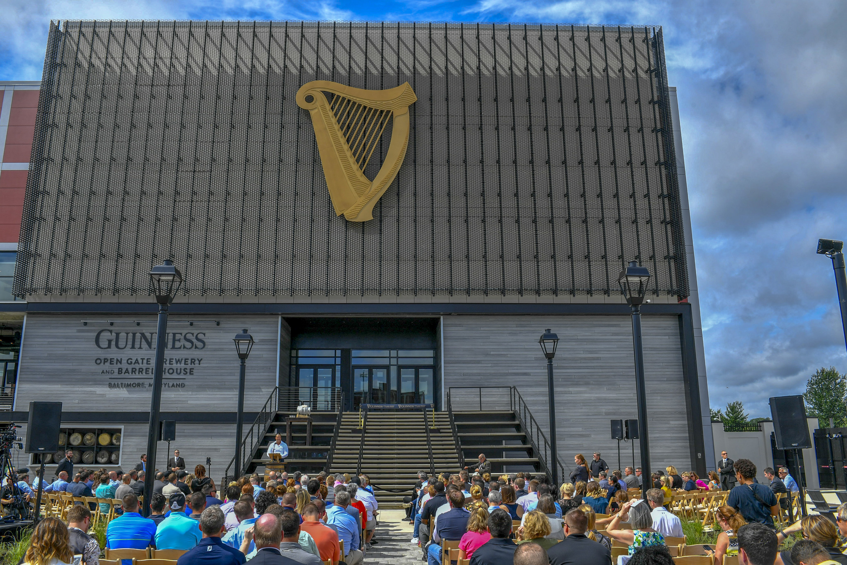 diageo opens guinness brewery barrel house in maryland brewbound com