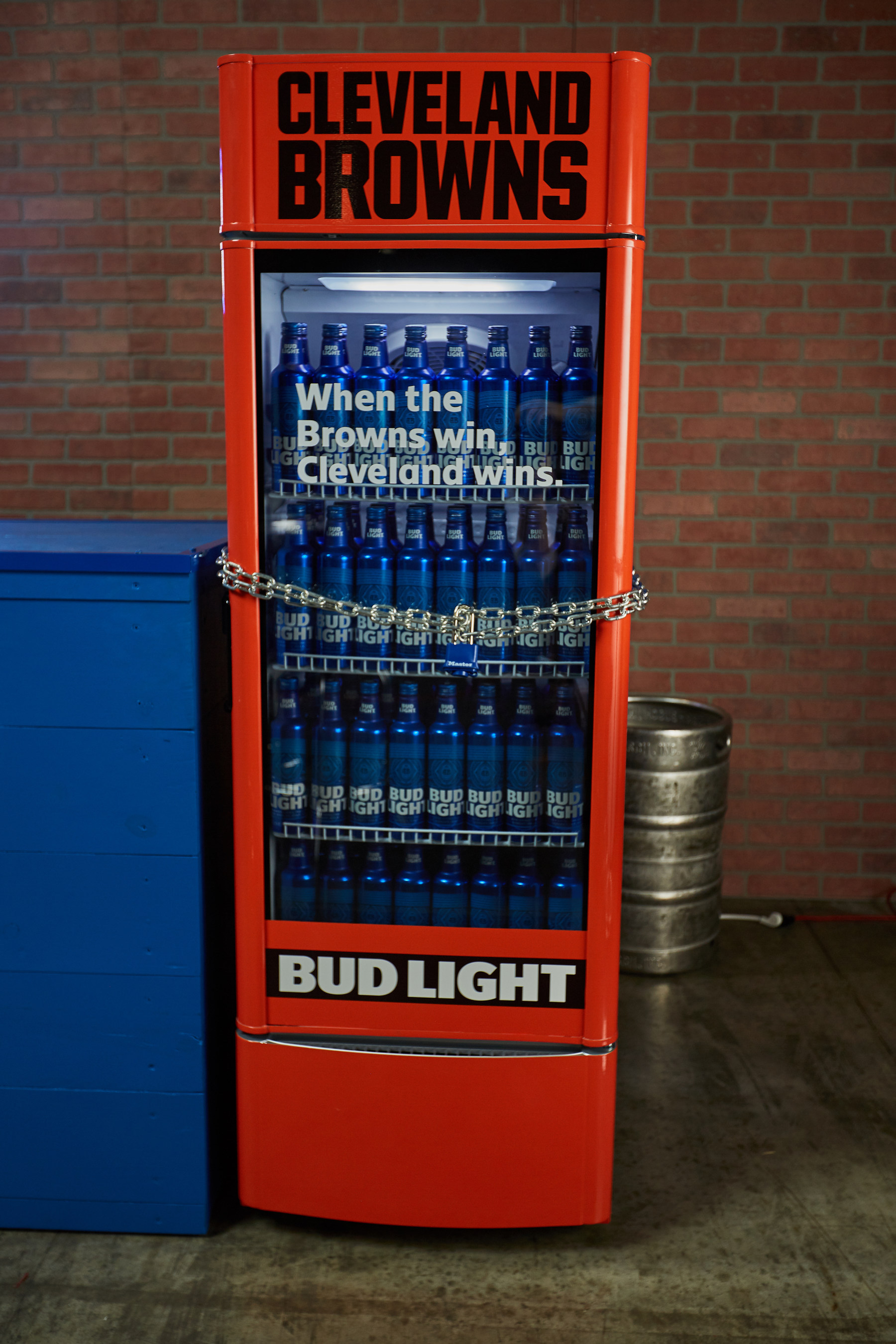 Anheuser Busch S Victory Fridge Will Dispense Free Bud