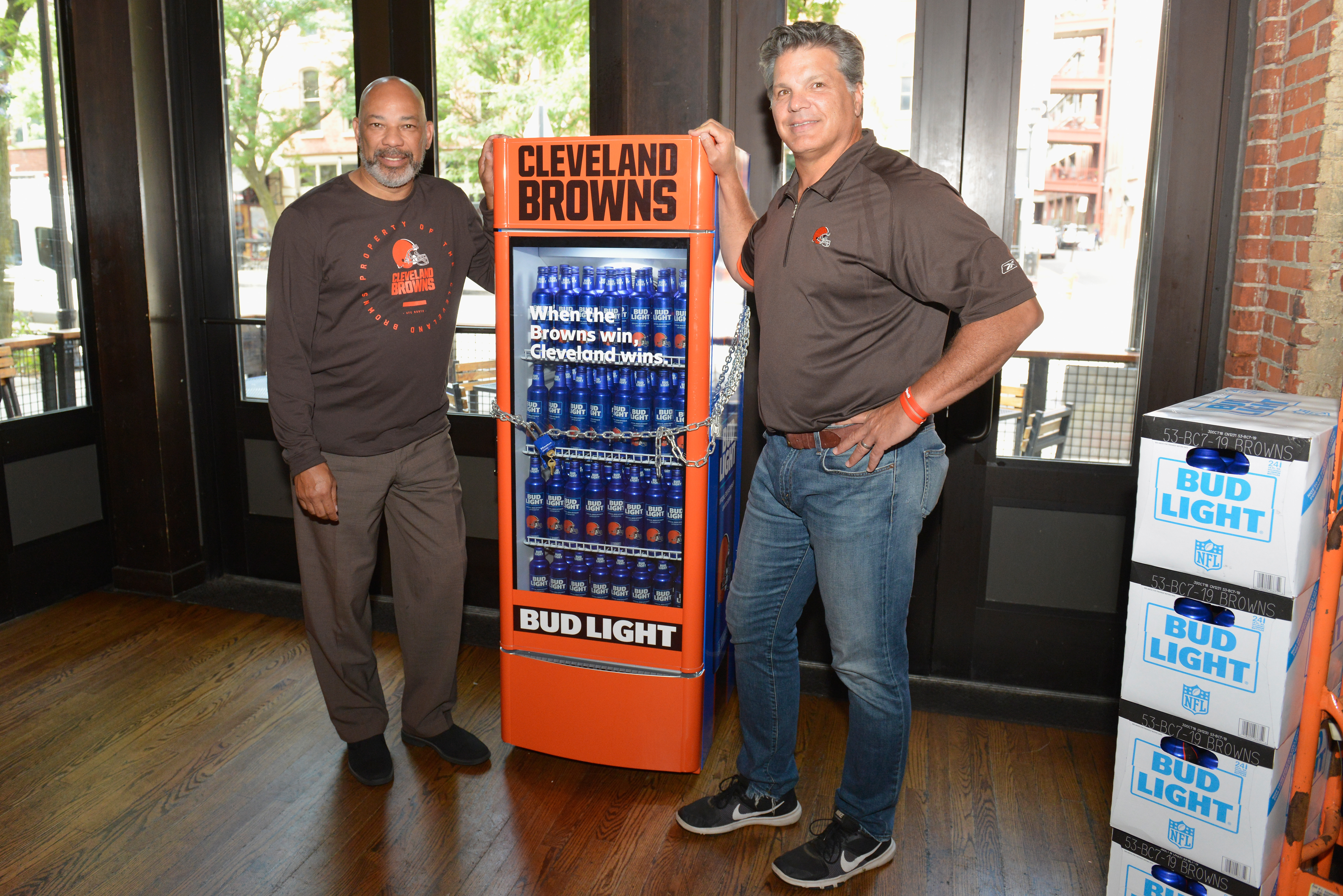 Anheuser-Busch's 'Victory Fridge' Will Dispense Free Bud
