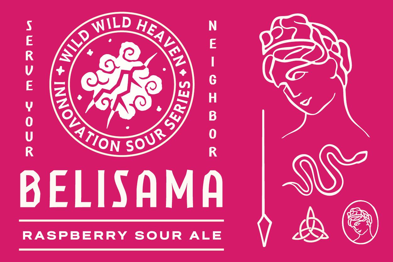 Wild Heaven Beer to Release Belisama Raspberry Sour Ale   Brewbound.com