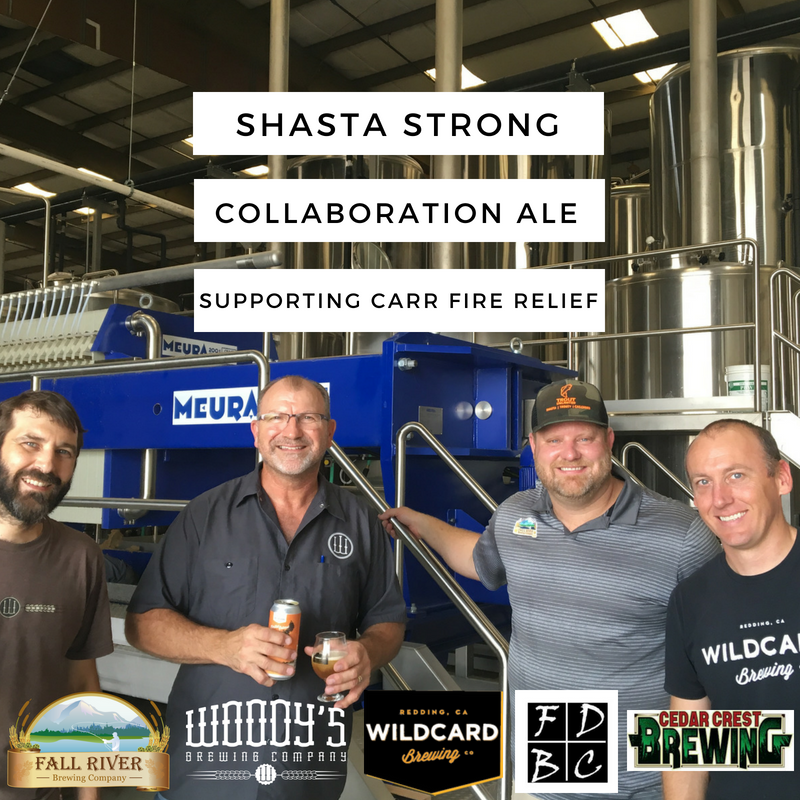 5 California Breweries Collaborate on Shasta Strong to Support Carr Fire Relief   Brewbound.com