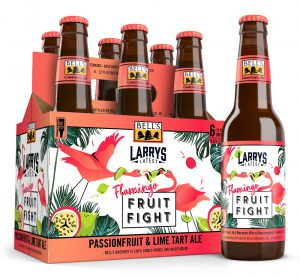bell s brewery releases larry s latest flamingo fruit fight
