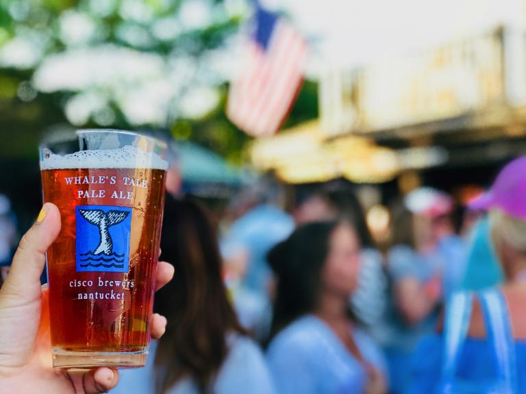 Craft Brew Alliance Partner Cisco Brewers Opens Pop-Up Beer Garden in Boston