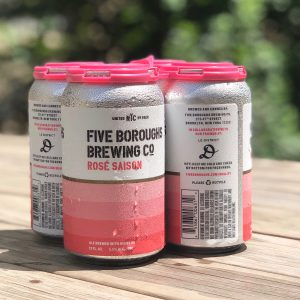 Brooklyn N Y Five Boroughs Brewing Co A Brooklyn Based Brewery And Le District New Yorks Premiere French Marketplace Teamed Up In Spring 2018 To