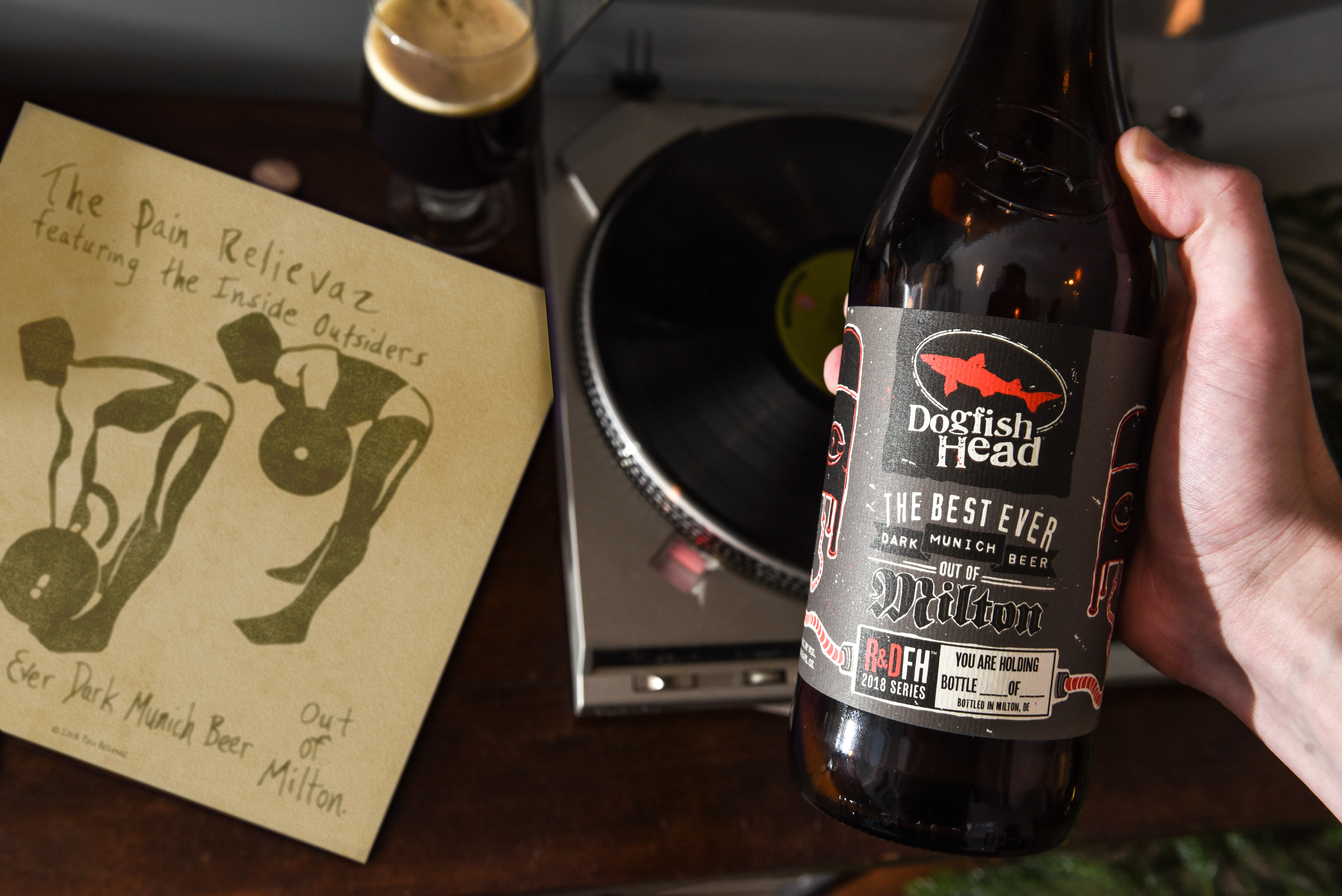 dogfish head to release 'the best ever dark munich beer out of