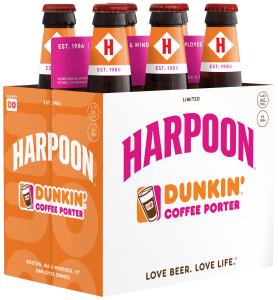 Image result for harpoon dunkin coffee porter beer advocate