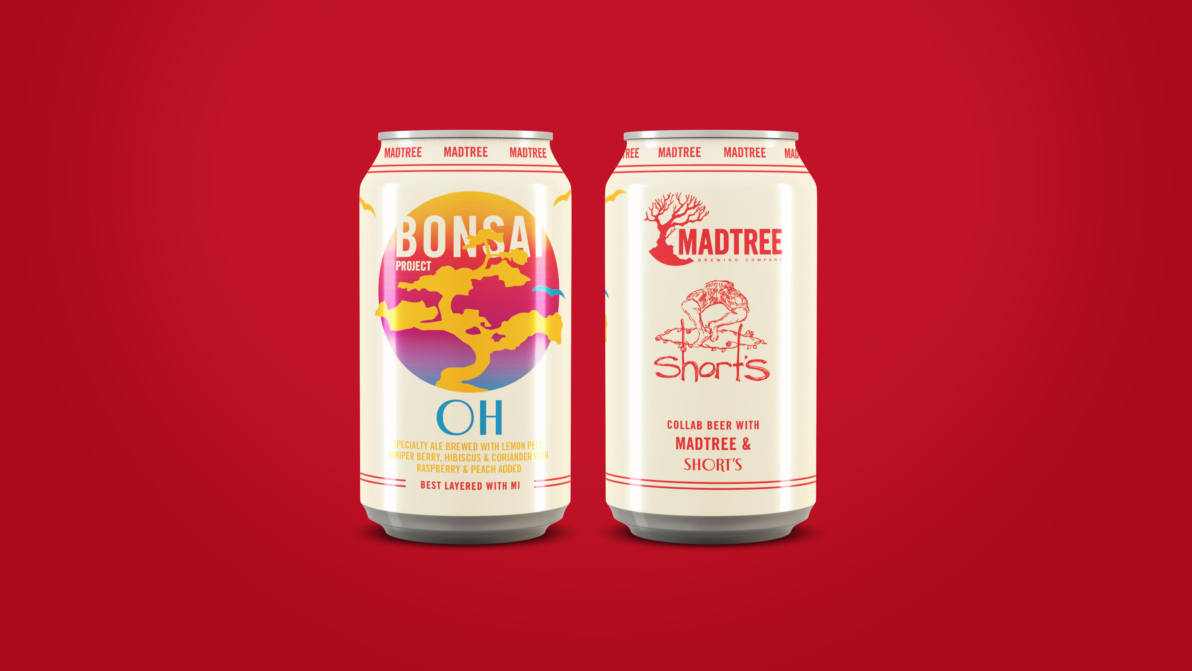 Madtree Brewing And Short S Brewing Company Collaborate On The Bonsai Project Brewbound