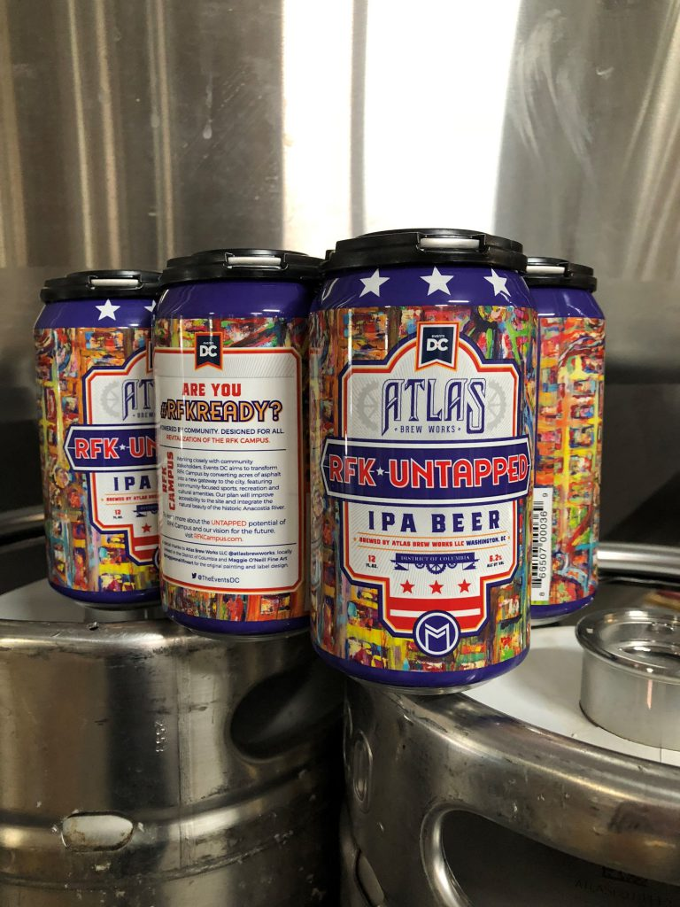 Events DC Partners with Atlas Brew Works on RFK Untapped IPA
