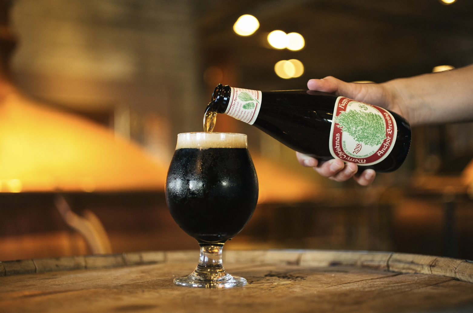 san francisco anchor brewing company announces the release of its 2018 christmas ale a subtly spiced and sumptuously smooth winter warmer - Christmas Ale Recipe